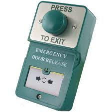 rgl du gb pte resettable emergency door release with exit on
