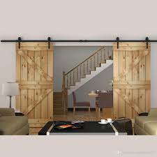 Decorating rustic sliding barn door hardware photographs : Excellent Double Barn Door Hardware Kit Image Concept Arrow ...