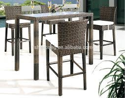 wicker bar table and chair set bar stoolbar chairwicker bar wicker bar table rattan bar