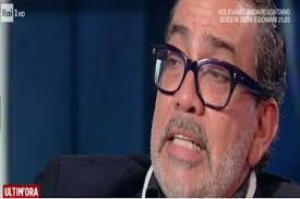 Guillermo Mariotto commosso in diretta:
