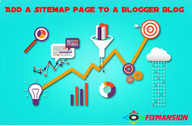 stylish page how to add a stylish sitemap page to a blogger blog fancybloggertricks