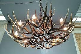deer antler chandelier with crystals kit regard to elegant household decor diy making elk w deer antler chandelier
