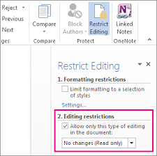 Make A Document Read Only Word