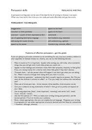 essay writing tips to persuasive techniques essay chapter 1 outlines the process of researching and structuring a persuasive essay this strategy guide focuses on persuasive writing and offers specific