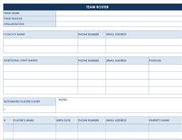 Sports Team Roster