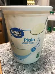 Great Value Light Vanilla Greek Yogurt Nutrition Facts Weight Watchers Food To Buy From Walmart