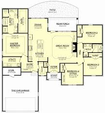 ... 2 Bedroom House Plans with 2 Master Suites Luxury Clear Creek Ii House  Plan ...