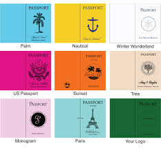 Sweet 16 Passport Invitations