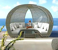 imposing daybeds incredible furniture comfortable round wicker outdoor rattan lounge chair uk