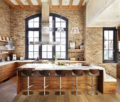 Brick Kitchen This Kitchen Brings A London Vibe To Vancouver Western Living