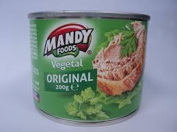 Mandy - Vegetable Pate / Pate Vegetal 200G - 200 g