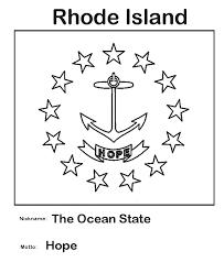 Usa Printables Rhode Island State Flag State Of Rhode Island