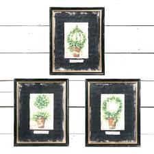 framed wall art sets framed wall art set of 3 topiary sets framed wall art set