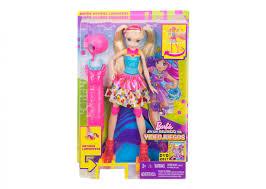 Barbie Doll Light Light Up Skates Barbie Doll Toy Triangle