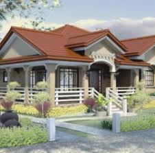foxy bungalow house designs philippines one story house plan