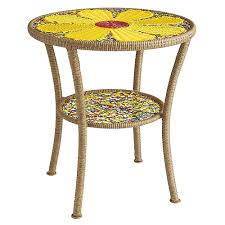 colorful garden furniture by pier 1