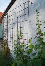 diy wire garden trellis wall with diy trellis wall