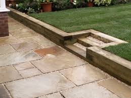 how to build a timber retaining wall with steps ideas pressure
