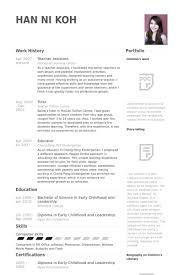 How To Write A Cv For Teacher Assistant