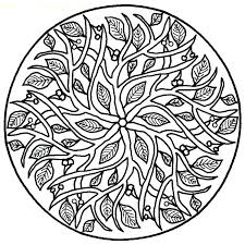 Complex Christmas Coloring Pages Complex Coloring Sheets Mandala