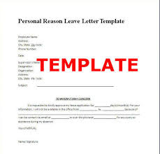 School Leave Letter For Vacation School Leave Application Letter
