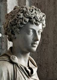 Ancient Roman Hair Style ancient roman sculpture showing the young marcus aurelius 139144 6012 by wearticles.com