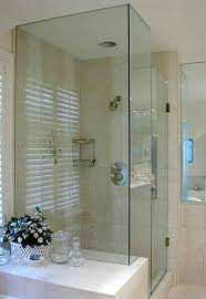 frameless shower door and enclosure