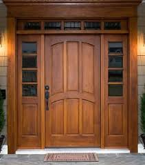 Exterior doors have to stand up to the elements so they're made from  several different types of materials (see the material information below).