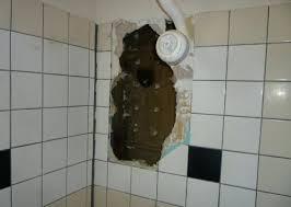 repair hole in wall bathroom wall repair for modern concept bathroom bathtub shower wall tile broken