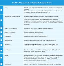 Managers Performance Review Cheat Sheet Smartsheet