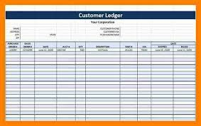Business Ledger Templates 11 Free General Ledger Templates Quick Askips