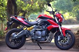 review benelli tnt 600i the new
