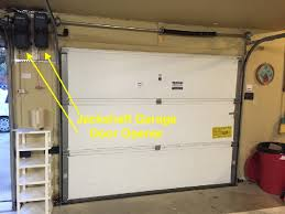 the reason for this simplicity in installation is that these garage door openers do not have a rail system they are mounted on the wall at the upper left or