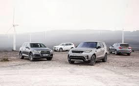 Coupe Series bmw x5 vs range rover sport : Land Rover Discovery vs Audi Q7 vs BMW X5 vs Volvo XC90 comparison ...