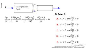 continuity equation for cylindrical system interactive