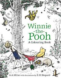 Winnie The Pooh A Colouring Book Electronics