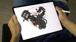 Cad Design Apps For Ipad Engineers Engine Adjustments Teaser
