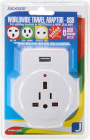 jackson nz aust inbound 1 travel adaptor usb with surge protection from
