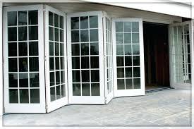 accordion patio doors. Tri Fold Patio Doors Home Depot Exterior Folding Glass . Accordion
