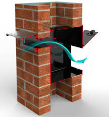 through wall mail drop slot with