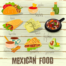 mexican food menu. Wonderful Food Mexican Food Menu In C