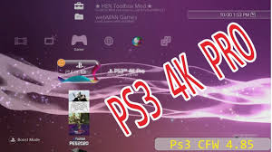 install ps3 4k pro on ps3 cfw 4 85