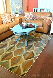 kitchen rugs furniture beautiful blue and tan modern rug from accent mohawk home tuscany