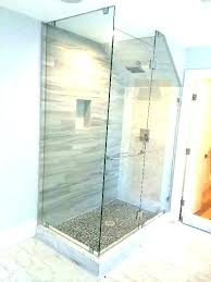 shower installation cost tile shower stall fiberglass to installation cost ti shower door installation cost labor