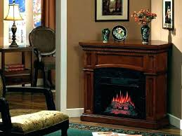 corner stone electric fireplace look effect fire suites