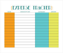Free Business Expense Tracker Template 18 Expense Tracking Templates Free Sample Example Format