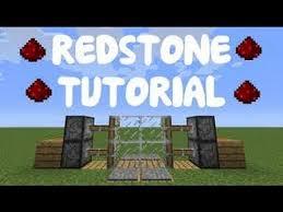 minecraft redstone tutorial l compact 2x2 sliding door sliding glass door l vanilla minecraft 1 8 9