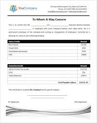 Format Of Salary Certificate From Employer 2 Namibia Mineral Resources