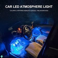 Đèn LED 4 màu dùng để trang trí nội thất xe ô tô giảm chỉ còn 204,450 đ