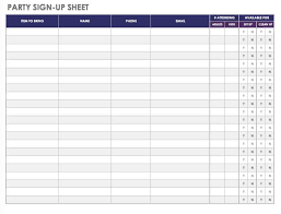Party Planning Templates 21 Free Event Planning Templates Smartsheet